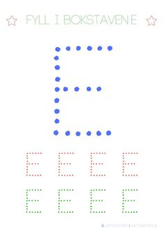 Lär dig skriva hela alfabetet med dessa färgglada bokstäver i färgerna röd, grön och blå – Lektionstips Cool Kids, Literacy, Bar Chart, Communication, Parenting, Teacher, Education, Games, Inspiration