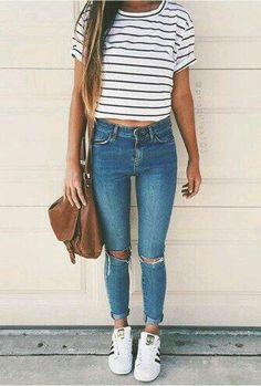 Teen fashion simple cute