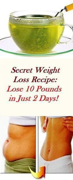 Secret Weight Loss Recipe: Lose 10 Pounds in Just 2 Days!