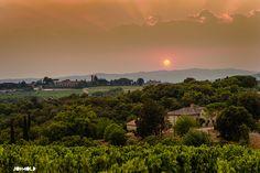 Borgo San Felice Wedding Tuscany, viewed from the vineyard - #BorgoSanFelice   #destinationWedding #TuscanyWedding #TuscanyWeddingPhotographer // www.jonmoldweddings.com