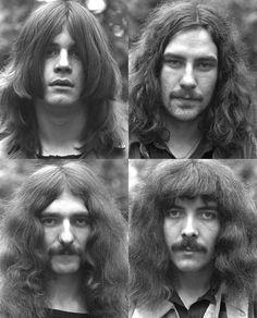 Black Sabbath and bands like Led Zeplin helped make long shaggy hair popular Rock Artists, Music Artists, Great Bands, Cool Bands, Rock N Roll, A Saucerful Of Secrets, Ozzy Osbourne Black Sabbath, Musica Metal, Geezer Butler