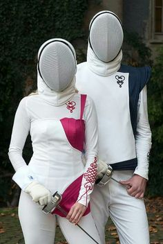 Fencing. I love this! And I'm not 100% sure as to why!