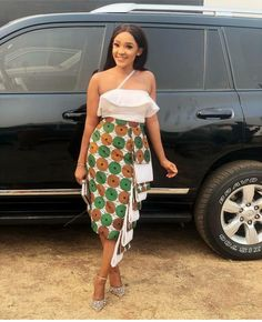 Ankara Splash Of Colors: Style Up Your Next Owambe With These Eye-Popping Ankara Fashion African Print Skirt, African Print Dresses, African Print Fashion, Short African Dresses, Latest African Fashion Dresses, Ankara Fashion, Kente Styles, Ankara Gown Styles, Mini Skirt Style
