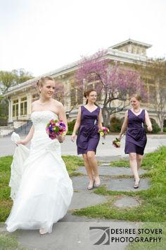 The Mansion House at The Maryland Zoo-wedding- #purpledresses #bridesmaids