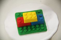 Fondant Lego tutorial