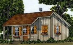 trapper Small cabin for mountain.