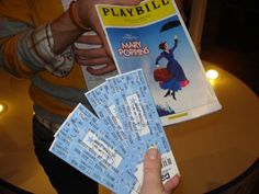 Saw a Broadway Musical! Loved Mary Poppins!