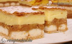 Apple pudding cake with puff pastry * Simple recipes Easy Cake Recipes, Apple Recipes, Dream Cake, Pudding Cake, Nutella, Cheesecake, Food And Drink, Easy Meals, Baking