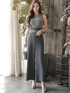 Business Outfits Women, Office Outfits Women, Fashion Wear, Fashion Pants, Fashion Dresses, Jumpsuit Prom Dress, Pantsuits For Women, Batik Dress, Western Dresses