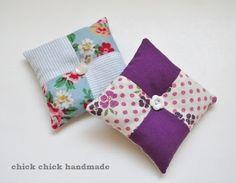 Patchwork lavender sachets