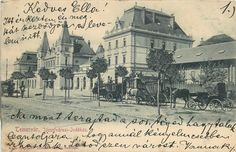 Timisoara train station 1903