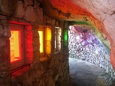 Rainbow Cave at Rock City Chattanooga, TN.. I love chattanooga