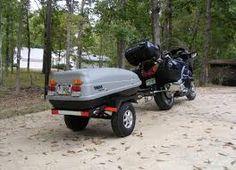 domáci motocykel trailer