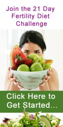 The 21 Day Fertility Diet Challenge    worth trying:) who doesn't love green, green, and more green?!?!
