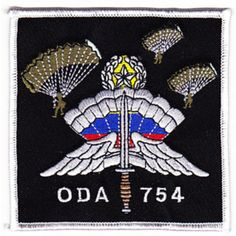 ODA-754 Patch United States ARMY B Co 2nd Battalion 7th Special Forces Group Operational Detachment A...