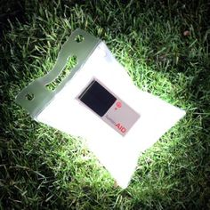 The LuminAID Solar Light is a solar-powered, inflatable light that packs flat and inflates to create a lightweight, waterproof lantern. Safe...