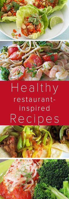 Bring the restaurant to your kitchen with these yummy, healthy and affordable recipes from Joy Bauer.