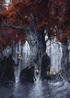 Edició il·lustrada de 'A Game of Thrones': el jurament davant dels Antics Deus