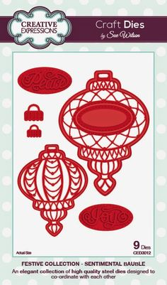 PartiCraft (Participate In Craft): Vintage Bauble and Sentimental Bauble
