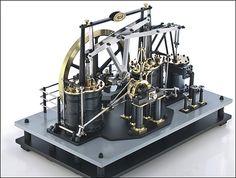 Engineering Works, Mechanical Art, Small Engine, Steam Engine, Cool Gadgets, Gears, Steampunk, Sculptures, Cool Stuff