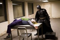 """""""I had never seen anybody sell a punch the way Heath was able to with Christian."""" - Christopher Nolan"""
