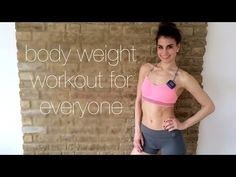 10 Minute Bodyweight Workout for Everyone - YouTube