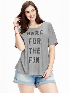 Women's Plus Graphic Tees | Old Navy