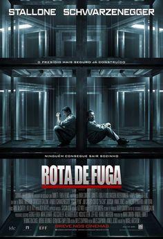 Com Arnold Schwarzenegger  e Sylvester Stallone filme Rota de Fuga estreia nesta sexta