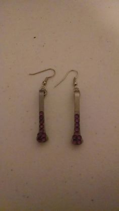 Check out this item in my Etsy shop https://www.etsy.com/listing/258393824/purple-rhinestones-horseshoe-nail