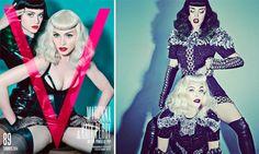Madonna og Katy Perry slår pjalterne sammen i V magazine | Stylista.dk