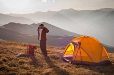 Rocky Mountain National Park is a perfect place to pitch a tent and unwind. | Photo Credit: Rocky Mountain