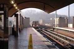 Eisenhower Av Metro Station in Alexandria.