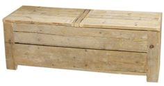 Speelgoedkist van steigerhout 150x50x50cm