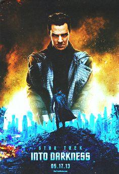 New Poster Star Trek Into Darkness - Cumberbatch
