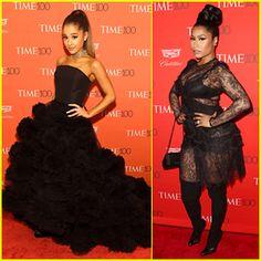 Ariana Grande & Nicki Minaj Make a 'Bang' at Time 100 Gala