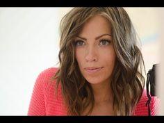 Shoulder Length Bed Head Hair tutorial