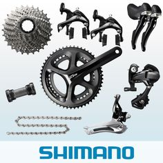 Shimano 105 5800 11 Speed Groupset Black