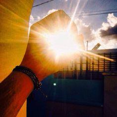 Güneşi tut
