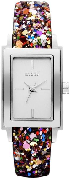 DKNY Multi-Coloured Sparkle Ladies Watch