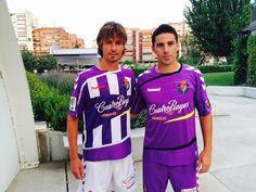 Real Valladolid 2015-16 Hummel Home & Away Kits