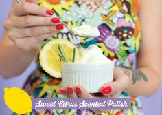 The Essence of Cool: DIY Scented Nail Polish