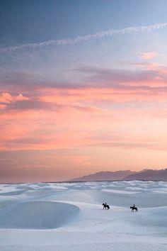 White Sands, New Mexico #Landscape #vertical #modernvision
