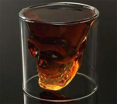 2pcs/Lot 75ml Skeleton Drinking Glass/Novelty Mug.