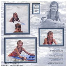 one way to make a photo the background paper.... by Jody Gustafson