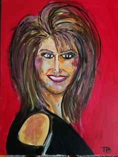 Portrait of friend Traci