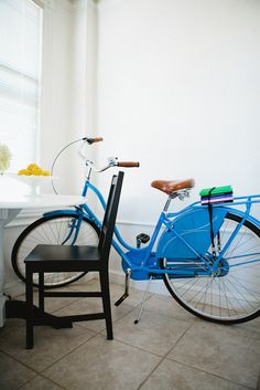 this is a cute blue color for my bike