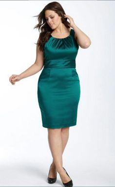 Vestido verde gordita