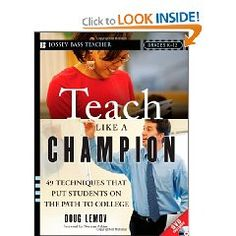 This book looks great... teaching ideas to create a challenging classroom.