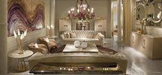 Cornelio Cappellini |  Luxury living room. #corneliocappellini #luxuryhouse #homedecor #interior #exclusivedesign #art #madeinitaly #exclusiveitalianfurniture
