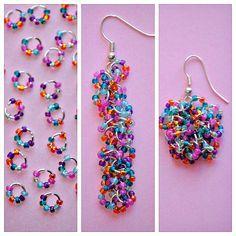 Easy Seed Bead Earrings - Happy-Go-Lucky real tutorial